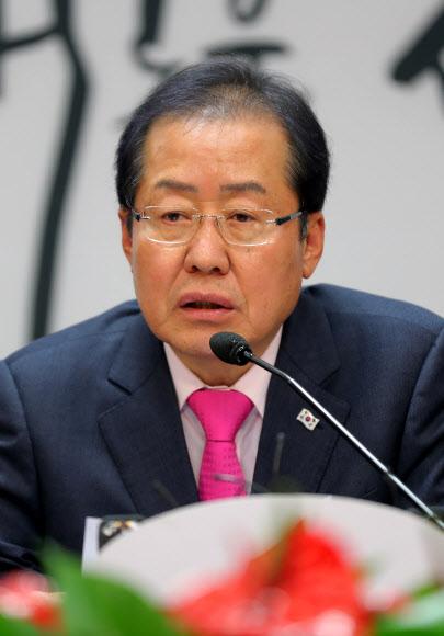 홍준표 자유한국당 대표.연합뉴스