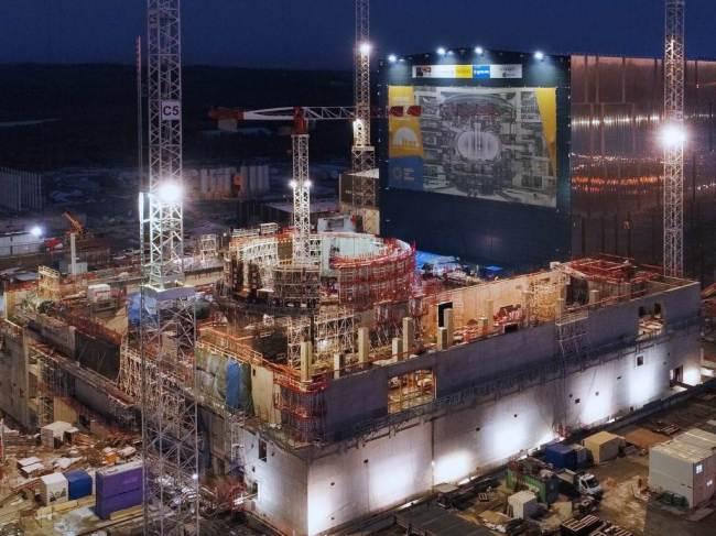 프랑스 카다라쉬에 건설중인 국제핵융합실험로(ITER) 전경 [제공=국가핵융합연구소]