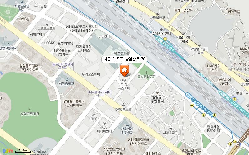 서울특별시 마포구 상암산로 76 (상암동,YTN 뉴스퀘어) 11~12층 한국문화예술교육진흥원