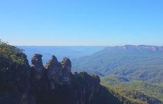 눈부신 푸른빛의 호주 블루마운틴 투어