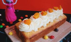 촉촉한 단호박 파운드 케이크