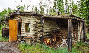 캐나다 유콘 원주민의 집에 가다