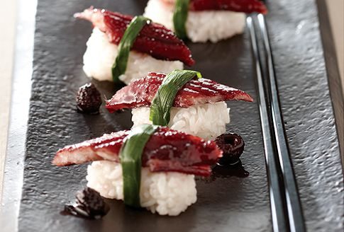 스태미너 충전 복분자 장어초밥
