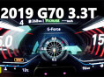 2019 제네시스 G70 3.3T HTRAC 0→150km/h 가속(2019 Genesis G70 3.3T