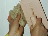 3단계  천연 물질 벽지 실크플..