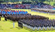 2012년 국군의 날 기념식의 메인 행사인 열병식