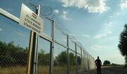 헝가리와 세르비아 사이에 세워진 국경 장벽
