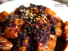 [치킨<b>데리야끼</b>]간단한 맥주 안주 닭가슴살 치킨 <b>데리야끼</b> 소스