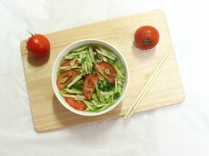 오이토마토냉국매일밥상