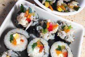 미니김밥 또는 마약김밥