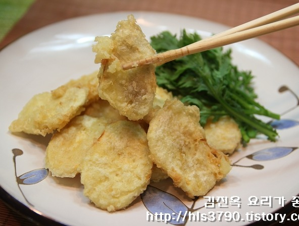 일식집처럼 바삭바삭하게 고구마튀김 만드는법