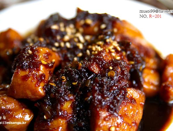 [치킨데리야끼]간단한 맥주 안주 닭가슴살 치킨 데리야끼 소스