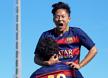 [포토] 복귀골 환호하는 이승우 - 라리가 유스 바르셀로나 VS 레리다 (6)