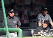 [사진]김광수 수석코치,'감독 대행'