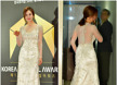 [포토엔]아이비 '추위 잊는 시스루 드레스 앞 뒤 자태에 시선 집중'(한국뮤지컬어워즈)
