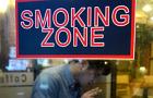 [르포]음식점 금연구역 확대 시행 첫날, '흡연=범법(?)'…금연정책에 우는 자영업자들