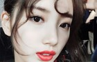 "[Selfie ★] ""바비인형의 환생""..수지, 치명적 팜므파탈"