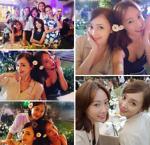 '슈가 의리' 아유미-한예원, 박수진♥배용준 결혼식 참석