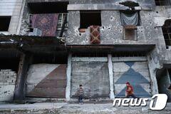 시리아 정부군, 알레포 등지서 반군 겨냥 공습 계속