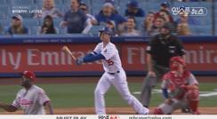 '슈퍼루키' 벨린저, 한 경기 2홈런 폭발!
