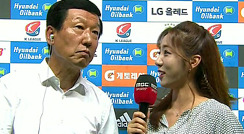 K리그의 새역사 쓴 최강희 감독, 경기 종료 후 인터뷰
