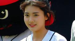 폭풍 성장 아이스크림 소녀, 신인배우 정다빈 양 시구