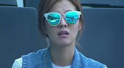 고통스러워하는 정조국을 안타깝게 지켜보는 김성은 / 전반 35분
