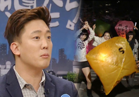 """김환, SBS의 미래를 예견한 풍등 대참사 에피소드 공개 """"불이야!"""" 313회 20160204"""