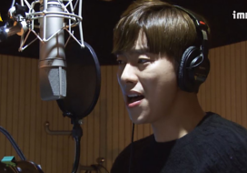 《메이킹》 윤현민, 사랑해 오늘도 OST 녹음 현장 공개 [내딸, 금사월] 43회 20160131