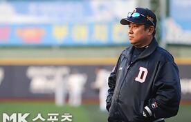 """'패장' 김태형 """"유희관은 베스트로 던졌다"""""""