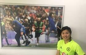 [김상열의 하프타임] '잉글랜드 여자축구 챔피언' 지소연을 만나다.