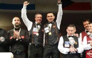 국가의 명예가 걸렸다. 세계 팀 3쿠션 선수권대회