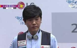 세계랭킹 38위이자, 국내랭킹 2위의 김재근