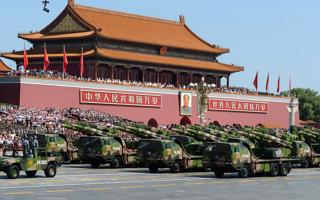 중국 사상 최대 규모 열병식 진행..'군사굴기'