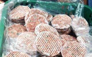 불량 돼지고기로 한우 떡갈비 만들어 판매