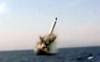 무력시위에 내부 결속 의도..'다목적' SLBM 발사
