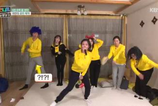 광란의 숙소 댄스 초토화! 제시와 아이들 결성~ 4회 20160429