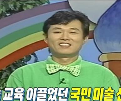 """'마리텔' 김충원 """"30년간 교육..글씨쓰면 그림도 그려"""""""