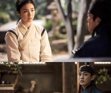 '육룡이' 유아인·신세경·공승연, 삼각관계 본격화 되나