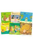★정가인하★ 돼지 너구리 시리즈 (전6권/재정가) 돼지너구리 워크북 포함구성