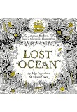 Lost Ocean: An Inky Adventure and Coloring Book: 미국판 (Paperback)