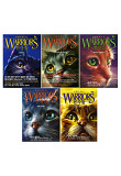 WARRIORS 전사들 시리즈 1~5권 세트(수첩증정) : 암흑의 밤/떠오르는 달/밝아 오는 새벽/별빛/황혼