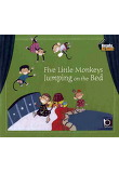 FIVE LITTLE MONKEYS JUMPING ON THE BED(READY ACTION)(CD)