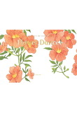 Flower Dance(플라워 댄스) 수채화 컬러링 노트