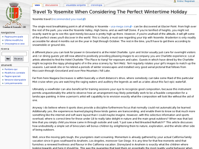 http://wiki-paesaggio.arc.uniroma1.it/index.php/Travel_To_Yosemite_When_Considering_The_Perfect_Wintertime_Holiday