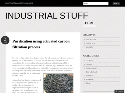 http://industrialstuff.wordpress.com/2012/01/03/purification-using-activated-carbon-filtration-process/
