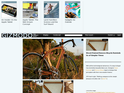 http://gizmodo.com/5335994/wood+framed-renovo-bicycle-reminds-us-of-simpler-times/gallery/