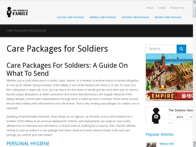 http://www.thesoldiersfamily.com