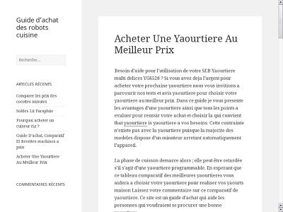 http://www.e-cafetier.fr/acheter-une-yaourtiere-au-meilleur-prix/
