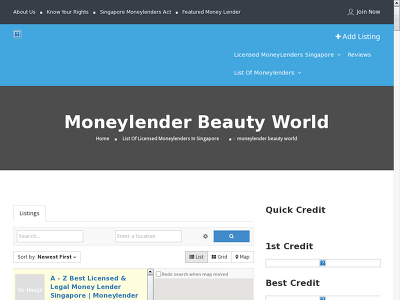 http://www.moneylenderreview.com.sg/list-of-moneylenders/categories/moneylender-beauty-world